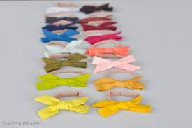 fox ribbon take a bow baby hair bow tutorial a crafty fox