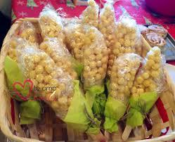 ears of corn thanksgiving day treat palm print shop