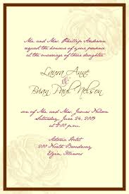 christian wedding invitations wording samples lake side corrals