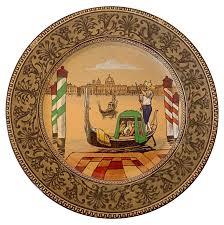 royal doulton english venice scene plate chairish