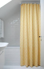 Yellow And White Shower Curtain How To Choose Yellow Shower Curtains Yodersmart Home