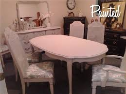 painted french provincial dining set u2013 painted furniture