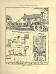 small retro house plans an architectural monograph on a suburban house english style