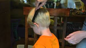 hair cuts for 18 month old boy how i cut my toddler s hair youtube