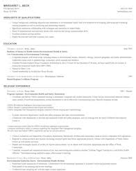 Scientist Resume Examples life physical and social science resume samples