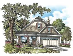 stylish plan for a narrow lot hwbdo69203 bungalow from