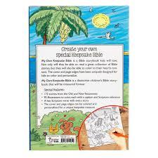 Personalised Keepsake Story Book For Children By My My Own Keepsake Bible A Bible Storybook To Color Walk By