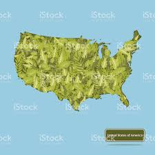 Untied States Of America Map by Vector Map Of The United States Of America Stock Vector Free