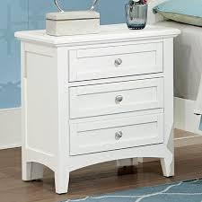 Bassett Nightstand Bonanza Nightstand White Vaughan Bassett Furniture Cart
