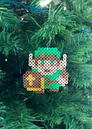 eb perler the legend of zelda 8 bit perler link