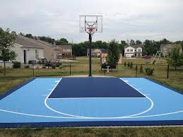 basketball courts with lights near me versacourt indoor outdoor backyard basketball courts