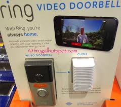 costco ring video doorbell and wireless chime 179 99 frugal