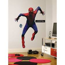 spiderman wall decor home designs ideas image of spiderman wall decor for bedroom