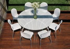White Patio Furniture Sets Collection In Patio Dining Table Patio Dining Table