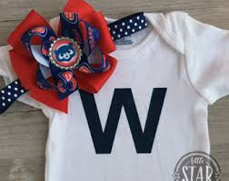 Chicago Cubs Crib Bedding Chicago Cubs Baby Etsy