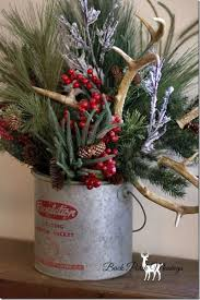 Christmas Decorations With Deer Antlers by 4071 Best Christmas Floral Designs Images On Pinterest Christmas
