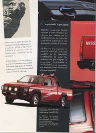 Vintage Ford Truck Brochures - nissan d21 king cab pickup dealer brochure for mexico nicoclub