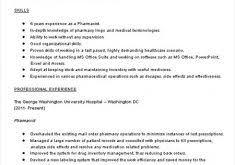strikingly idea pharmacist resume sample 8 pharmacist resume