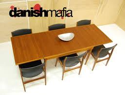 Chair  Mid Century Modern Woven Cord Teak Dining Chairs By Danish - Scandinavian teak dining room furniture