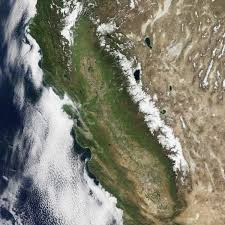 Sierra Nevada Mountains Map Sierra Nevada Snowpack Is Better But Not Normal Image Of The Day