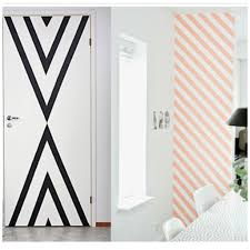 Washi Tape Wall Designs by Inspi Masking Tape Inspiracje Pinterest Tape Masking And