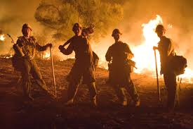 California Wildfire Database by Firefighters On The Line In California Fema Gov
