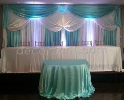 wedding backdrop rental toronto decor rent wedding backdrop in white and blue colors