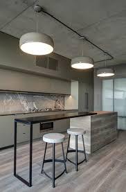 cuisine minimaliste design bar en bton cir bton cir with bar en bton cir beautiful beautiful