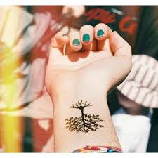 collection of 25 tree roots tattoos on wrist