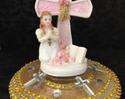catholic cake topper etsy