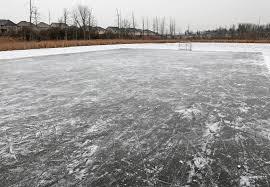 Backyard Ice Rink Brackets Home Ice Rink Skiing Video