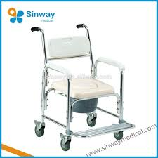 Flat Folding Chair Selling Steel Retail Flat Folding Portable Commode Chair