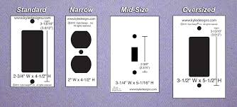 light switch cover dimensions large switch plates endearing light switch plate outlet cover decora