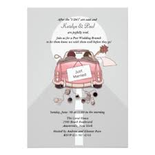 just married cards just married cards invitations greeting photo cards zazzle