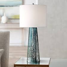 marcus mercury glass tapered column table lamp 8w701 lamps plus