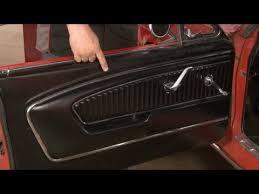 65 Mustang Interior Parts Mustang Tmi Pony Door Panel 1965 1966 Installation Youtube