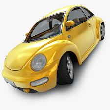 vw volkswagen beetle vw new beetle 3d model stock
