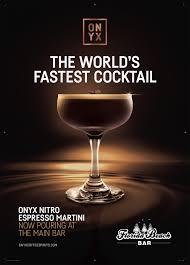 martini bar logo onyx espresso martini creative creatures