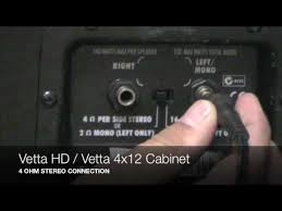 Line 6 Amplifier And Cabinet Connections Part 1 Youtube