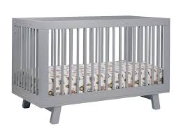 Convertible Cribs With Toddler Rail Babyletto Hudson 3 In 1 Convertible Crib With Toddler Rail Grey
