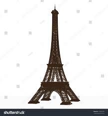 detailed vector eiffel tower stock vector 153689150 shutterstock