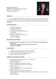 Sample Resume For Ojt Accounting Students by 100 Sample Resume For Ojt Accounting Students Resume