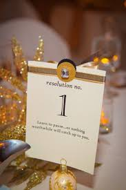 Wedding Table Numbers Ideas New Years Eve Wedding Ideas 10 Festive U0026 Fun Finds