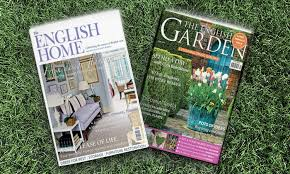 English Home Design Magazines One Year Magazine Subscription Groupon Goods