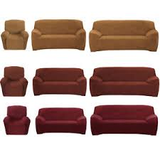 Stretch Sofa Covers by Stretch Sofa Couch Covers Slip Cover 1 Seater Recliner 2 Seater 3