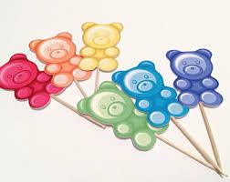 Gummy Bear Decorations Candy Theme Etsy