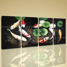 Feng Shui Painting Large Abstract Feng Shui Painting Zen Wall Art Print Canvas
