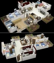 square footage visualizer 50 three 3 bedroom apartment house plans architecture design