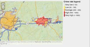 World Crime Rate Map by Burlington Crime U0026 Community