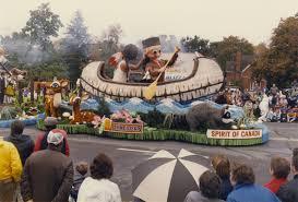 thanksgiving day canada kitchener waterloo oktoberfest thanksgiving day parade 1986